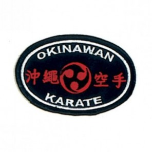 Okinawan Karate Martial Arts Patch