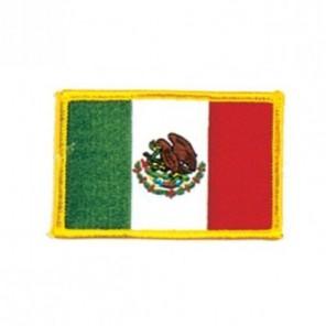 Mexico Flag Martial Arts Patch