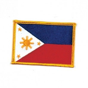 Philipine Flag Martial Arts Patch