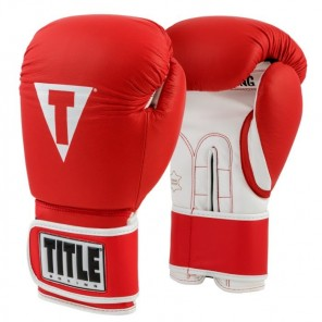 TITLE Pro Style Leather Training Gloves 3.0
