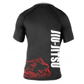 Red Nose Pitbull Rashguard