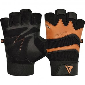 RDX S15 Leather Gym Fitness Gloves