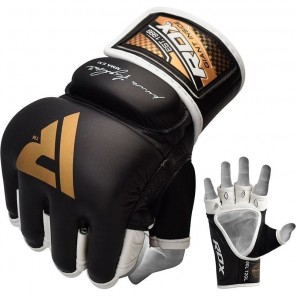 RDX T2 Leather MMA Gloves