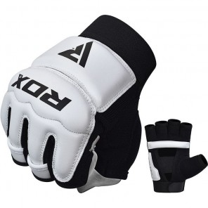 RDX T2 White Taekwondo Gloves