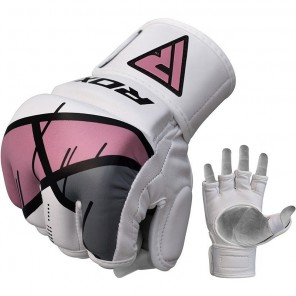 RDX T7 Ego Pink MMA Gloves for Women