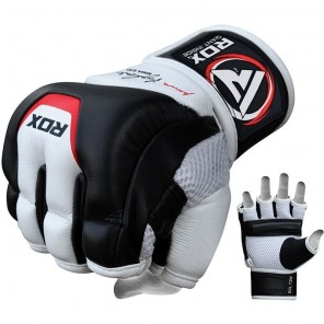 RDX T3 Leather MMA Gloves
