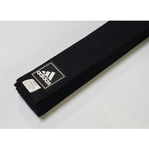 adidas X-TRA Wide Martial Arts Black Belt
