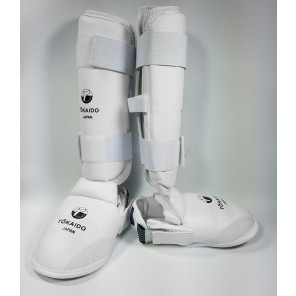Tokaido White Shin and Foot Protector