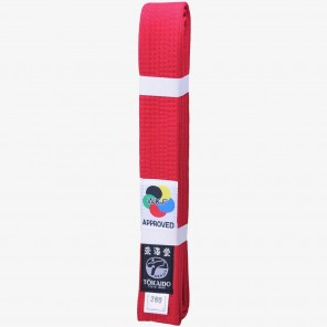 Tokaido WKF Elite Red Belt