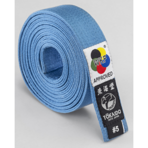 Tokaido WKF Sky Blue Belt
