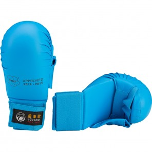 Tokaido WKF Approved Karate Gloves with thumb - Blue