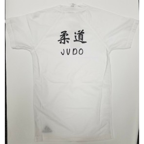adidas Judo Rashguard w/ Printing on Back