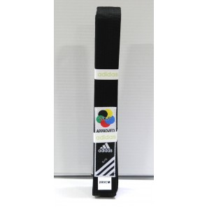 adidas WKF Elite Black Belt
