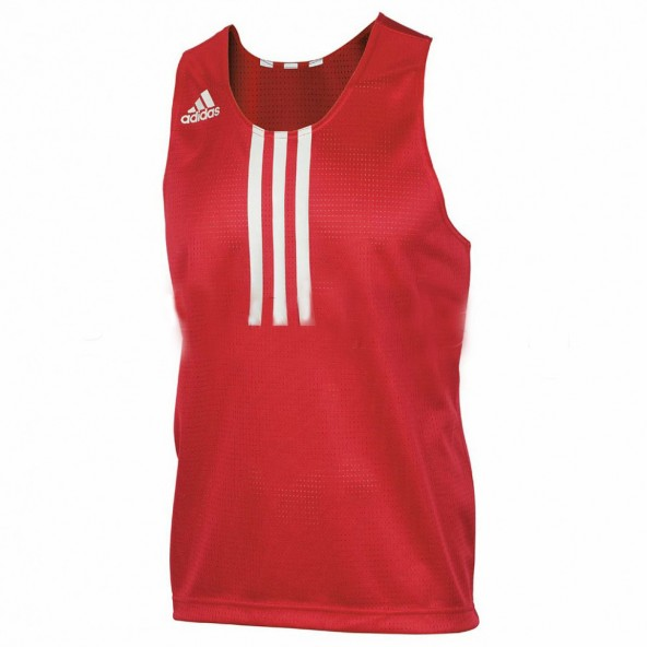 New adidas Club Line Boxing Jersey 100/% Polyester Breathable Material Top-BLUE